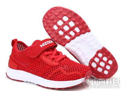 奈足童鞋2018新款鏤空運動鞋