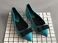 沃格女鞋新款平底单鞋
