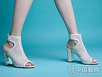 艾民儿女鞋2018新款高跟凉鞋