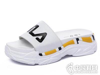IGG女鞋新款厚底凉鞋产品