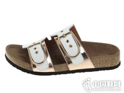 奥卡索女鞋2018新款休闲凉鞋