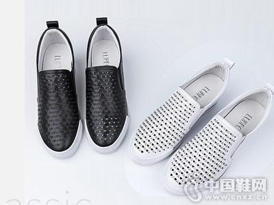 路貝佳女鞋2018新款中空休閑鞋