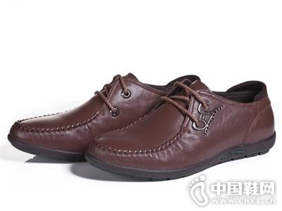 戴斯威男鞋2018新款休闲皮鞋