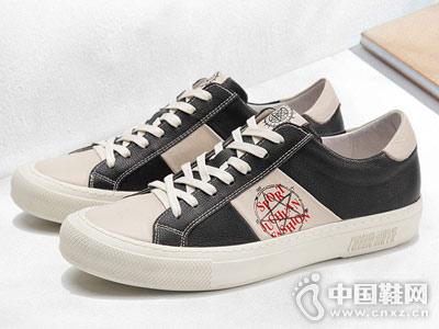 �R��杜克男鞋2018新款休�e板鞋