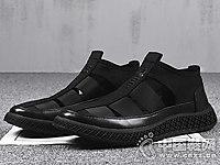 斯米尔男鞋2018新款镂空运动鞋