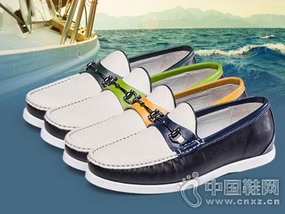 波士威尔男鞋2018新款豆豆鞋