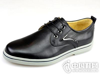 啄木鸟男鞋2018新款休闲皮鞋