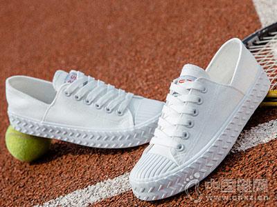 安丽尼卡女鞋2018新款小白鞋