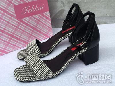 菲凯FEKKAI女鞋2018新款凉鞋