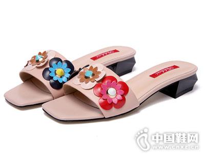 菲凱FEKKAI女鞋2018新款涼鞋