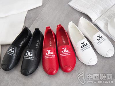 东帝名坊女鞋新款平底鞋