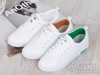 靓典女鞋2018新款休闲板鞋