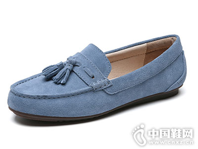 JUMBOUGG简帛2018新款豆豆鞋