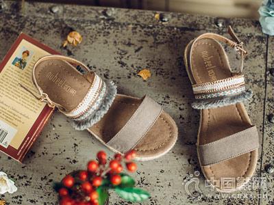 如熙女鞋2018新款坡跟凉鞋