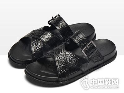 宾渡男鞋2018新款凉鞋