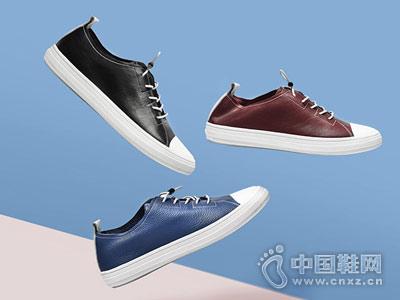 宾渡男鞋2018新款休闲板鞋