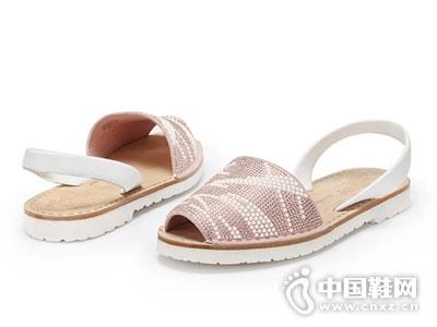 VMe舞魅女鞋2018新款休闲凉鞋