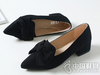 ZHR2018夏季新款浅口尖头单鞋