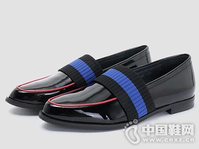 millies妙丽2018秋英伦风休闲女单鞋