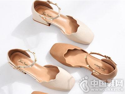 巨圣女鞋2018夏季新款中空单鞋