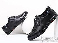 蜘蛛王2018男鞋夏季男士休闲皮鞋