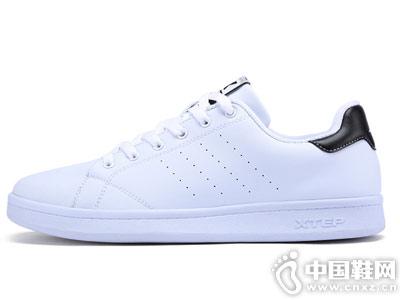 特步情侣板鞋男鞋休闲鞋夏季跑步鞋
