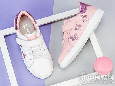 富罗迷童鞋18秋季新款儿童鞋女童运动鞋子