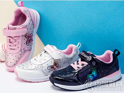 富罗迷儿童鞋女童鞋子2018秋季新款运动鞋
