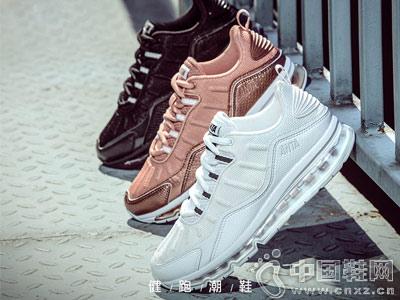 安踏女鞋2018夏季新款全掌气垫运动鞋