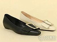 丹比奴时尚女鞋18年秋季新款平底鞋