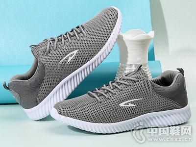 德尔惠男鞋2018夏季新款运动鞋