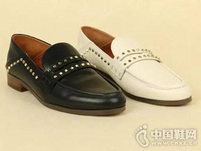 丹比奴时尚女鞋18年秋季新款休闲单鞋