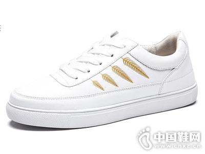 木林森小白鞋女春季2018新款百搭韩版板鞋