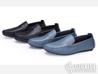 骆驼牌2018新款男鞋乐福鞋