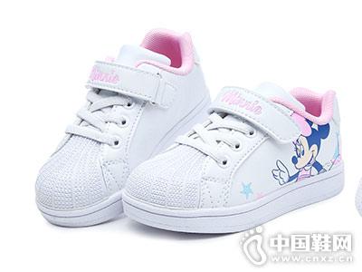 迪士尼童鞋2018秋季新款小白鞋
