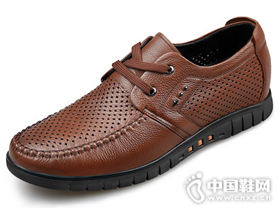 高哥男增高鞋2018新款豆豆鞋