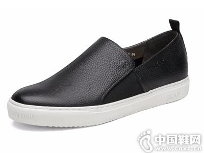SKAP圣伽步2018新款男鞋板鞋