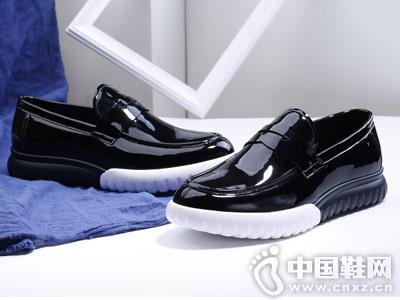 布莱希尔顿男鞋2018新品板鞋