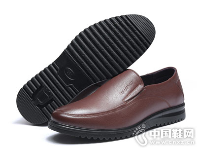 富贵鸟男鞋2018新款皮鞋