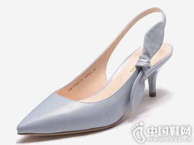 富贵鸟女鞋2018新款高跟鞋