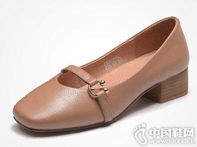 富贵鸟女鞋2018新款单鞋