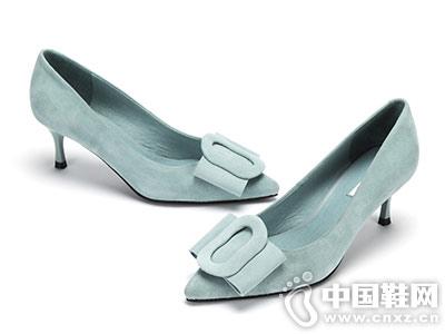 圆漾女鞋2018秋季新款高跟鞋