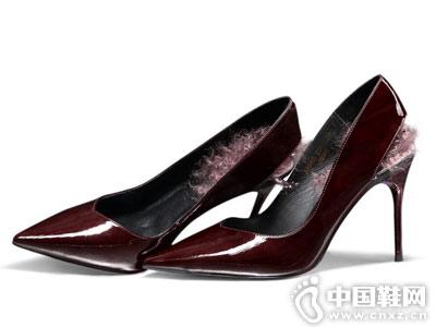 柯玛妮克2018秋季新款高跟鞋