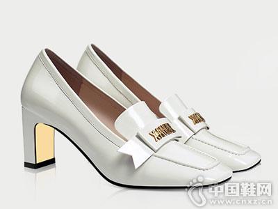 香阁儿女鞋2018秋季新款高跟鞋