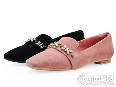 卡迪娜女鞋2018秋季单鞋