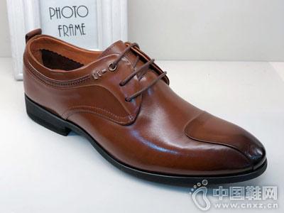 德赛帝伦男鞋2018皮鞋新款