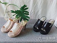 三雄麒女鞋2018新款高鞋凉鞋