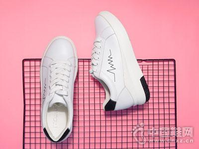 洛曼琪2018新款秋季小白鞋