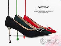 D:Fuse迪芙斯反绒皮单鞋