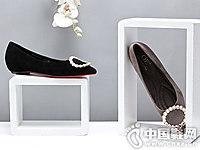 OE欧意2018新款尖头平底单鞋